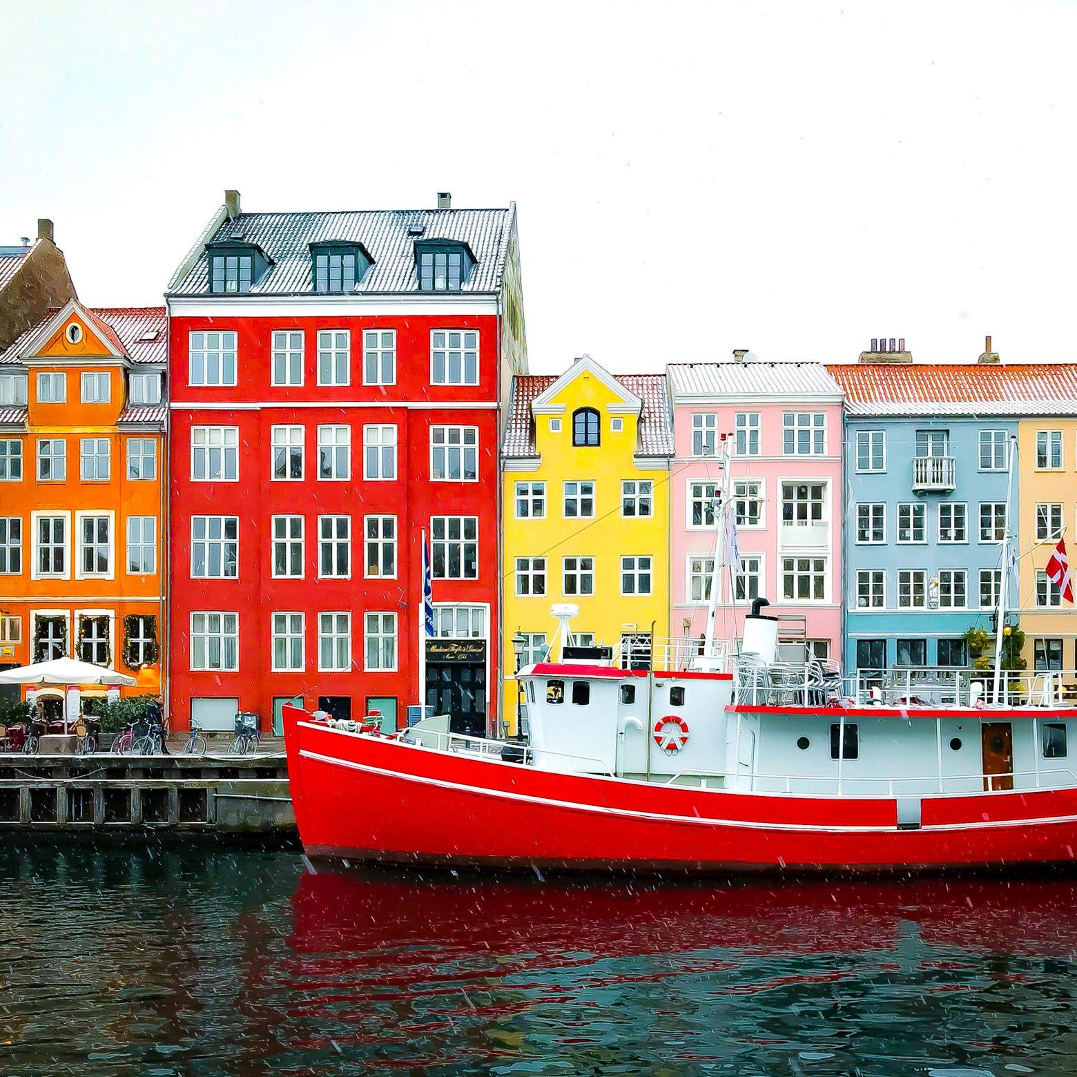 København er en fantastisk by – Få den op på din væg